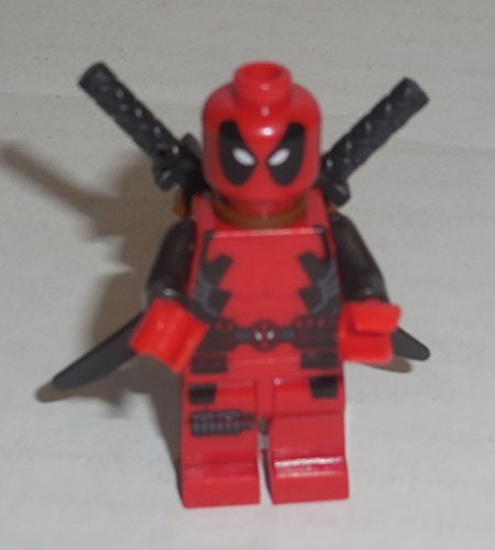 Lego Marvel Super Heroes Deadpool Minifigure