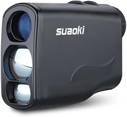 Suaoki Digital Laser Rangefinder Scope with Fog ,Horizontal Distance, Height, Speed Measurement and Unique Distance Correction Function , Perfect for Golf ,Hunting and Racing