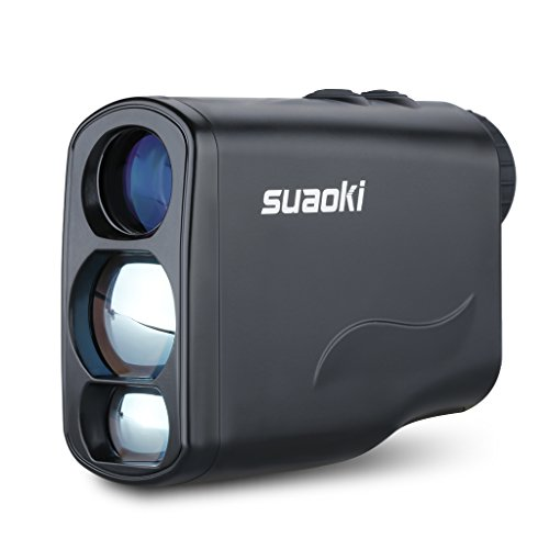 Suaoki Golf Range Finder Laser 656 Yard with Unique Distance Correction, Speed, Range, Flagpole Lock, Fog, Horizontal Distance, Height Mode...