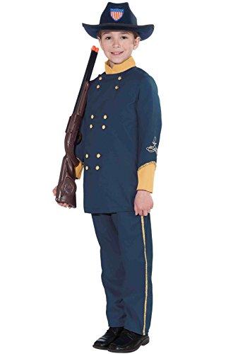 Forum Novelties Union Officer Child's Costume, Small -