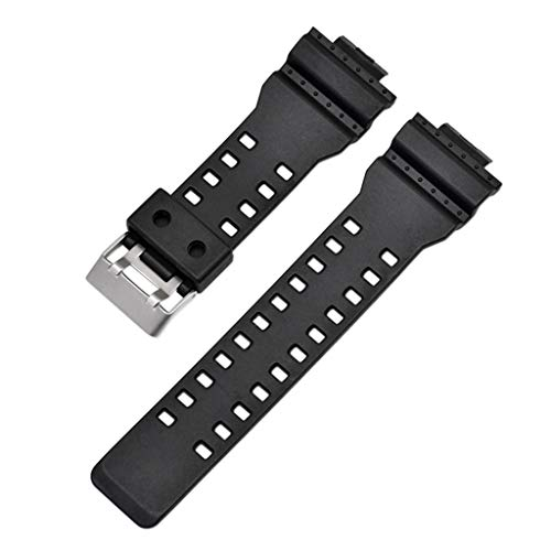 Replacement Watch Strap Watch Band for G Shock 16mm GA-100 G-8900 GW-8900 Black