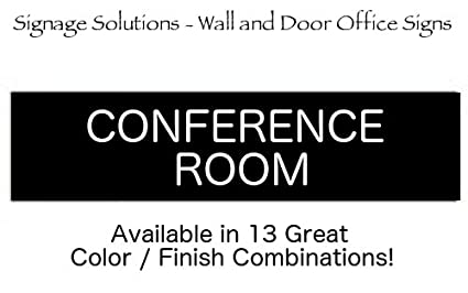 amazon com signage solutions wall or door sign conference