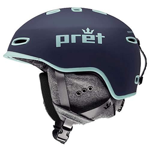 pret(プレット) スキー ヘルメット PRET 2019 LYRIC リリック Indigo 18-19 プレット スノーヘルメット 【C1】  M(55~59cm)
