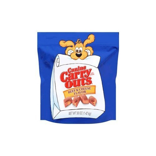 Canine Carry Outs Beef/Cheese Flavor Dog Treat by PHILLIPS FEED & PET SUPPLY (English manual)