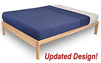nomad 2 platform bed frame solid hardwood twin