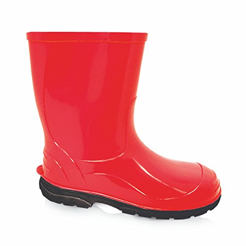 LEMIGO Kinder Gummistiefel Regenstiefel OLI (33, rot)