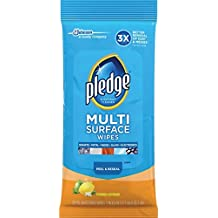 Pledge Multi Surface Everyday Wipes 25 ea (Pack of 6)