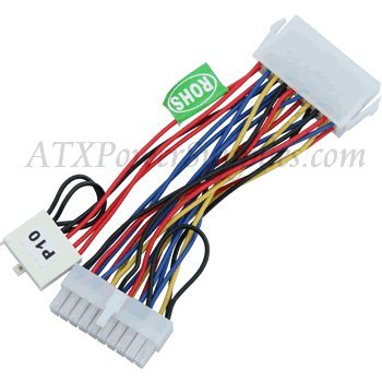 6 Pin Dell P10 AUX Connector Adapter for Dell Dimension 2100, 4100, B1000R, V350, V400, XPS B Series, XPS Dxxx, XPS Mxxx, XPS Rxxx, XPS Txxx, XPS P133c MT, XPS Pro 180n, LxxxR, LxxxCXE, LxxxCX, LxxxC, Optiplex G1, GX1, GX110, GX115, GX300, GN, GN+, GXa, GXi, PowerEdge 2100, 2200, Precision WorkStation 210, 220, 400
