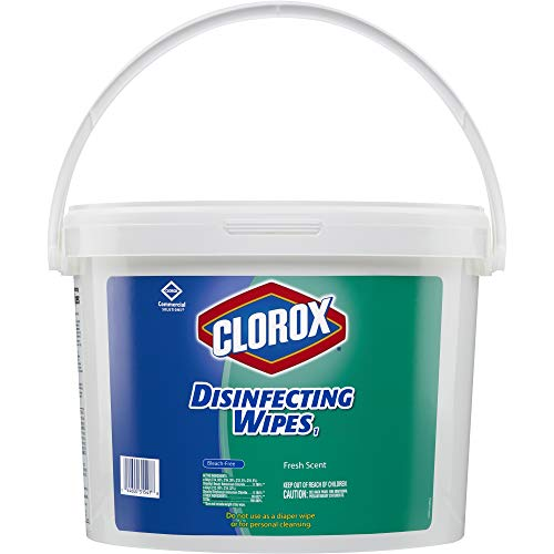 Clorox Commercial Solutions Clorox Disinfecting Wipes, Fresh Scent – 700 Wipes (31547)
