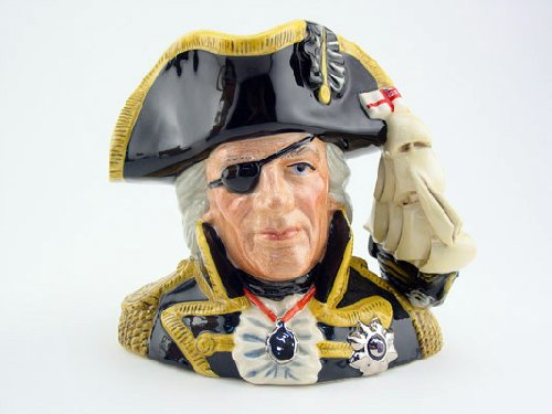 Doulton Large Character Jug - Royal Doulton ViceAdmiral Lord Nelson Large D6932 Character Jug