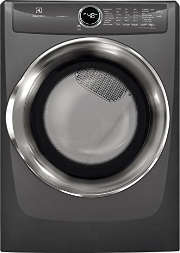 Electrolux EFME527UTT 27 Inch Electric Dryer with 8 cu. ft. Capacity, in Titanium