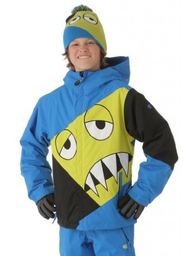 686 Snaggleface Insulated Jacket Blue Boy's XL by 686