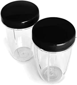 NutriBullet NB RX Stay Fresh Resealable Lids (2).25 Lbs