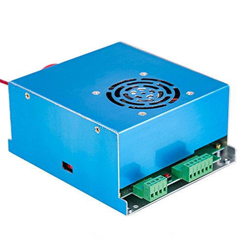 Cloudray CO2 Laser Power Supply 50W AC110/220V Replace DIY Part for CO2 Laser Engraver MYJG 50 ()