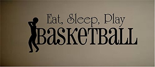 STICKER BASKETBALL SPORTS HOBBIES OUTDOORS product image