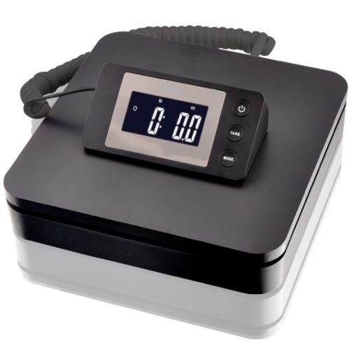 SAGA 100 LB X 0.1 oz DIGITAL POSTAL SCALE for SHIPPING WEIGHT POSTAGE W/AC 45 KG (0.1 Ounce Packages)