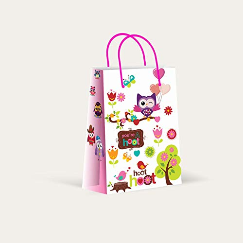 Premium Owl Party Bags, Party Favor Bags, New,