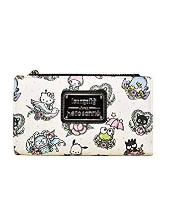 Amazon.com: Loungefly x Hello Kitty - Cartera de tatuaje con ...
