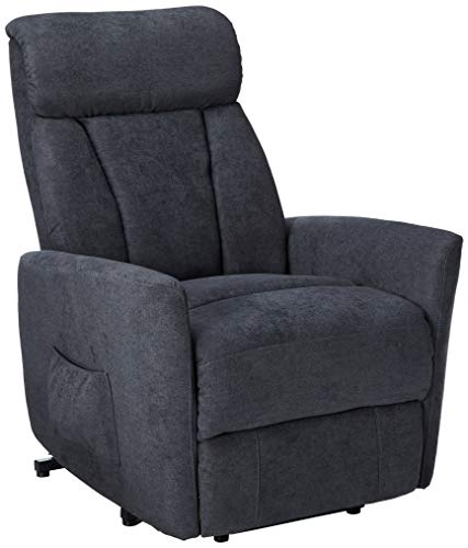 Harper Bright Designs Power Recliner with with Heavy Duty Lifting Mechanism Living Room Sofa Chair Grey Fabric