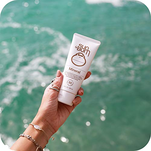 Sun Bum Mineral SPF 50 Sunscreen Lotion   Vegan and Reef Friendly (Octinoxate & Oxybenzone Free) Broad Spectrum Natural…