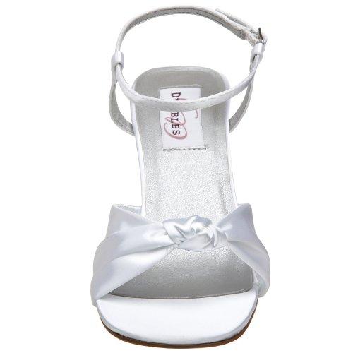 Dyeables Womens Loveknot Sandal White bo5xk7mnTv
