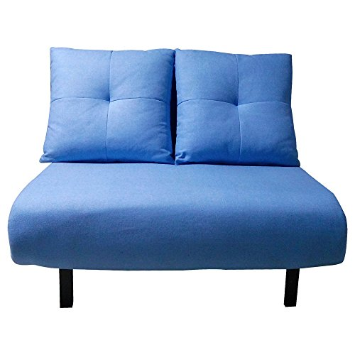 Beverly Furniture Vono Blue Sofa Bed, Light Blue