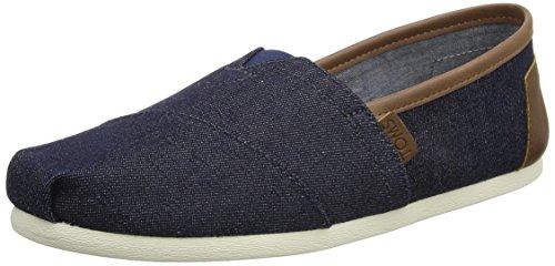 (TOMS Seasonal Classics Men's Slip on Shoes (13 D(M) US, Dark Demin))