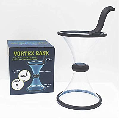 Babook -Vortex Piggy Bank|Change Saving Wishing Well Watch Money Defy Gravity | Physics with Coin in Motion: Toys & Games