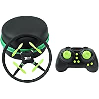 Littleice New Mini Super Durable Nano UFO Drone Space Trek 2.4GHz 4-Axis 4CH RC Quadcopter Toy Gift (Green)