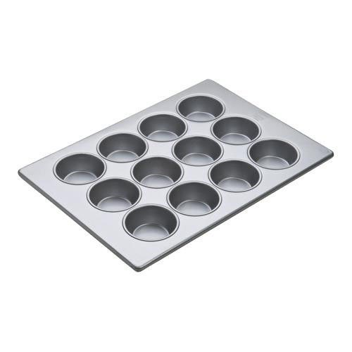 Focus Foodservice Large Muffin Pan, 17 7/8 x 25 7/8 inch -- 6 per case. by Focus Foodservice