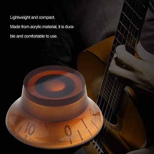ningbao951 Electric Guitar Potentiometer Cap Volume Voice Speed Bell Knobs For Electric Guitar Parts Acrylic Guitar Accessories