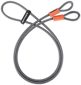 Kryptonite KryptoFlex 410 Double Loop Bicycle Security Cable (10mm, 4')