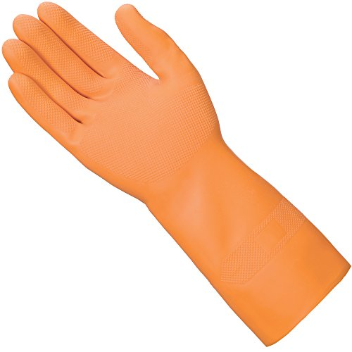 (Mr. Clean Ultra Grip, Heat Resisting, Soft Cotton Flock Lining, Extreme Non-Slip Diamond Grip Gloves, Medium)