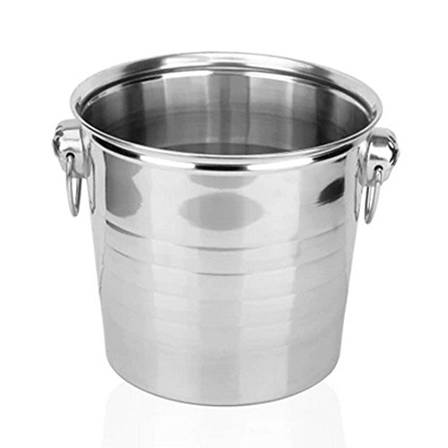 Yontree Wine Bucket Stainless Steel Champagne Bucket 1 pc