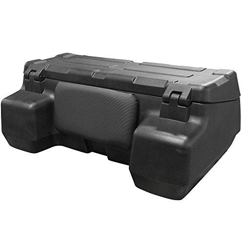 Rage Powersports ATV-CB-8015 ATV Quad Rear Rack Backrest Cargo Box