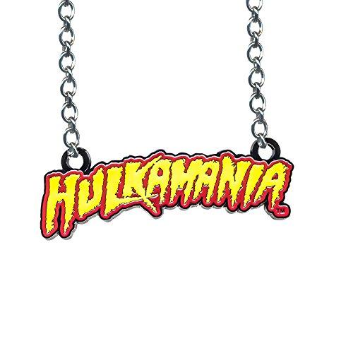 WWE Hulk Hogan Hulkamania Red & Yellow Pendant (Wwe Pendant)