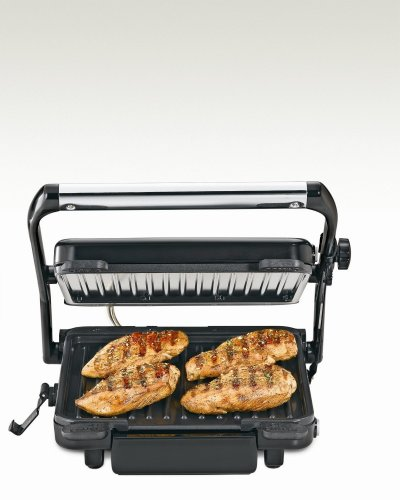 Hamilton Beach 25451 Indoor Grill with 85-Inch Cooking - Hamilton Beach Countertop Grill