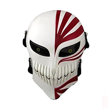 La cara de la muerte Paintball Airsoft Cosplay Cráneo Esqueleto Máscara protectora de la cara completa