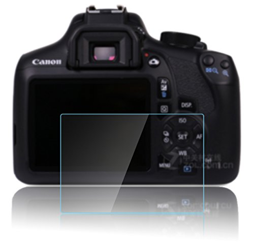 (PCTC Screen Protector Compatible for Camera Canon EOS 1200D EOS 1300D EOS Rebel T6 Anti-Scratches Anti Dust Anti)