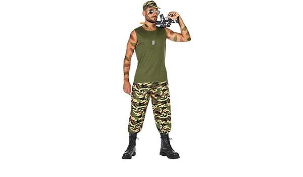 Disfraz de Militar Guerrillero para Hombre: Amazon.es: Juguetes y ...