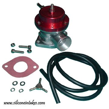 Universal BOV with Greddy Type S Style Flange - Red (Type 4) Shaman Equipment
