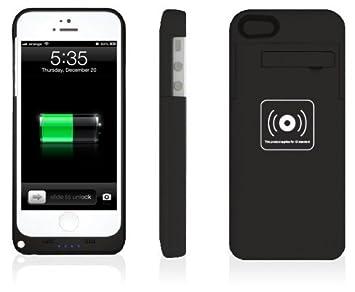 Ultrafina 2200 mAh iPhone 5S carcasa con cargador con Qi ...
