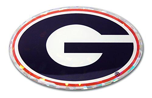 Elektroplate Georgia Bulldogs Color NCAA Reflective 3D De...