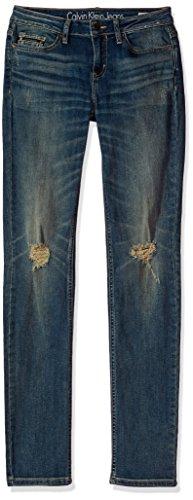 (Calvin Klein Women's Skinny Jean, Tinted Dust,)
