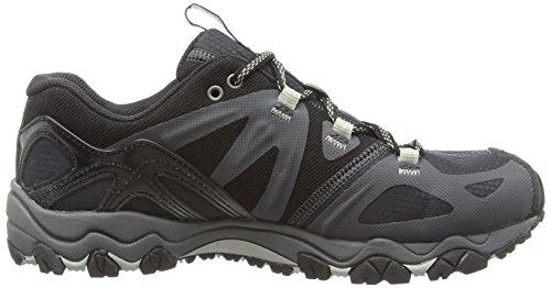 Merrell grassbow Sport Gore Tex - Zapatillas de Senderismo de cuero hombre Black/Silver