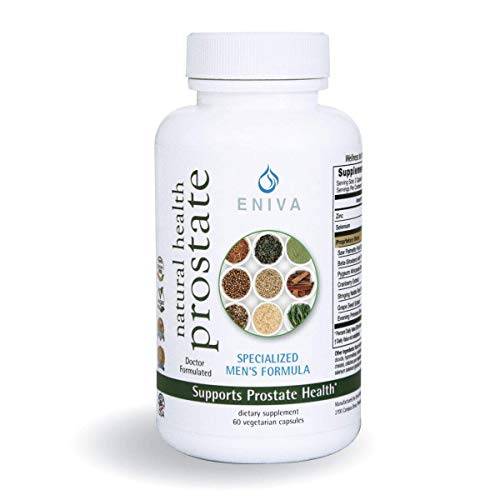 Prostate Supplements for Men. MAX Value 5X More. 2000mg Total. Saw Palmetto Plus Beta-Sitosterol, Zinc, Primrose Oil, Pygeum + Helps Frequent Urination, DHT Blocker & Hair Loss. Eniva Health.