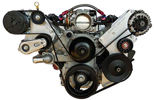 (Dirty Dingo Alternator/Power Steering & Sanden AC Bracket GM LSx Truck Engines)