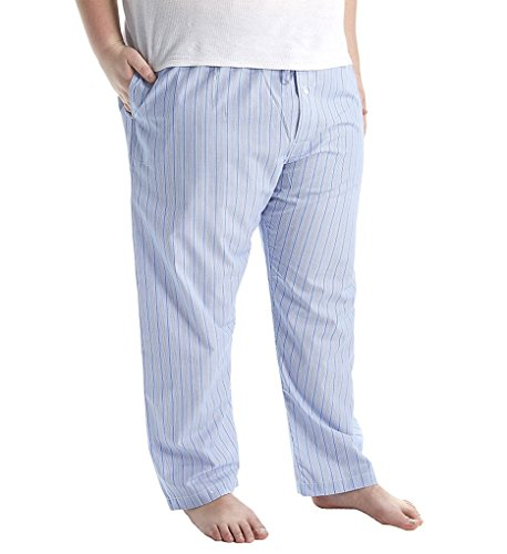 Polo Ralph Lauren Mens' Big and Tall Cotton Oxford Pajama Pants (3XB, Andrew Stripe)