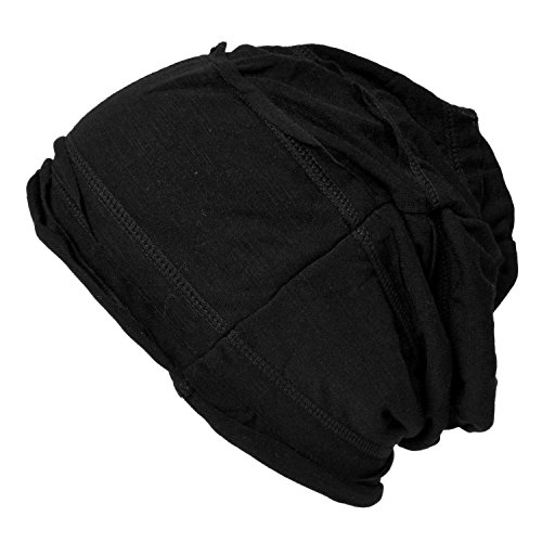 Casualbox Womens Slouch Beanie Baggy Hat Knit Japanese Fashion Black 8f003ef9367b