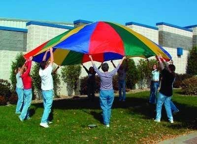 (20-Foot Diameter Parachute (for Movement Activities))
